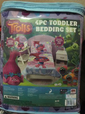 Trolls toddler bedding for Sale in Menifee, CA