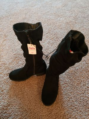 Girls Justice boots size 5 - Brand new! for Sale in Marvin, NC