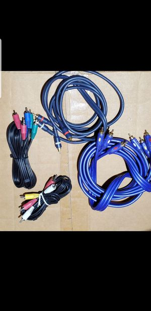 3 AV cable $5 for Sale in Hickory Creek, TX
