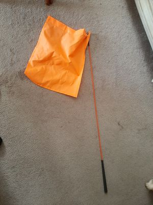 Horse Lunging/Training Flag 48 inch for Sale in Portsmouth, VA