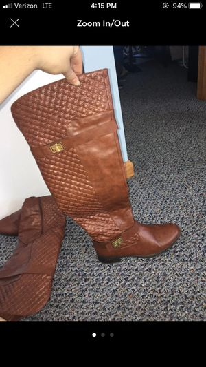 Thigh High Brown Boots for Sale in Marysville, OH