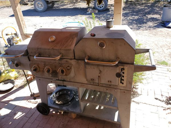 Gas and charcoal grill 30 bucks