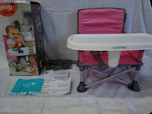Summer Infant Pop N' Sit Portable Booster Seat for Sale in Atlanta, GA