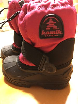Kamik Canada kids boots for Sale in Bartlett, IL