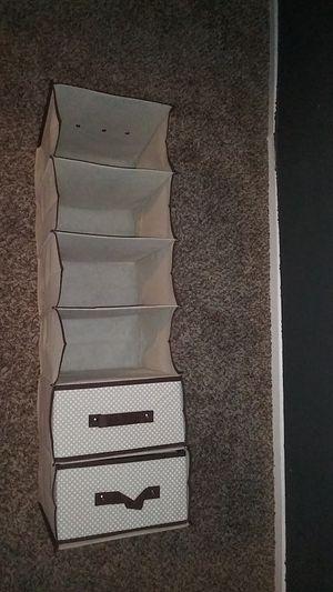 $9 New 6 shelf with 2 drawers organizer. for Sale in San Bernardino, CA