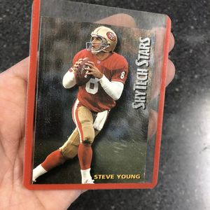 Steve Young SkyTech Stars Card (ST-29) 1994 San Francisco 49ers - Super Bowl LIV for Sale in Santa Maria, CA