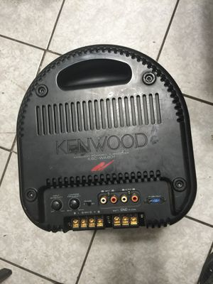 Kenwood Powered Subwoofer KSC-WA801 for Sale in Spring Valley, CA