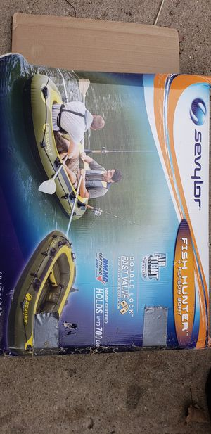 Inflatable 2 person boat for Sale in Joliet, IL