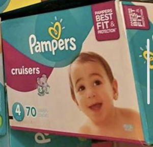 Pampers size 4 cruisers for Sale in Philadelphia, PA