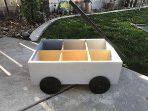 Wagon Planter Box Grey & Black for Sale in Manteca, CA