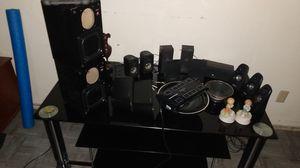 Misc / speaker's/ glass 3 shelf enter.tainment table.. for Sale in Clovis, CA