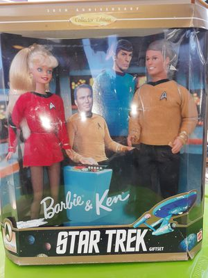 Barbie and Ken 30th anniversary Star Trek gift for Sale in Houston, TX