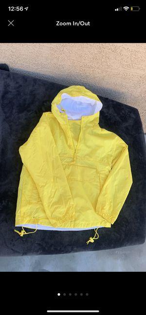 Yellow RainCoat Windbreaker for Sale in Las Vegas, NV