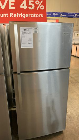 Brand New! Whirlpool Stainless Steel Top Mount Refrigerator!! for Sale in Gilbert, AZ