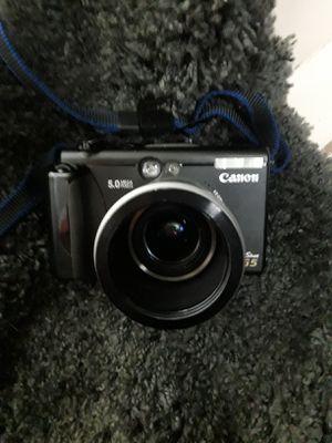 CANON CAMERA G5 for Sale in Chiriaco Summit, CA