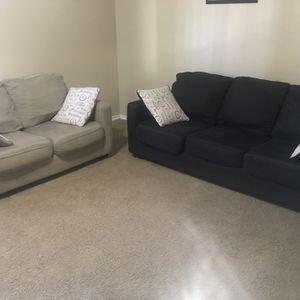 2PCS sofa - couches set with pillows for Sale in Dallas, TX