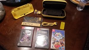 Nintendo Switch Lite Accessories and Games for Sale in Dulles, VA
