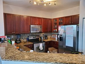 Kitchen complete (silver plams) for Sale in Goulds, FL