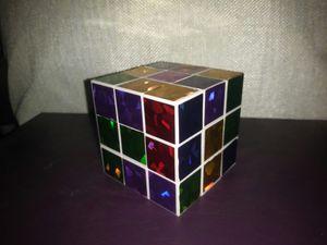 Shiny rubix cube puzzle game for Sale in Boston, MA