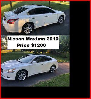 ֆ12OO_2010 Nissan Maxima S for Sale in Tacoma, WA