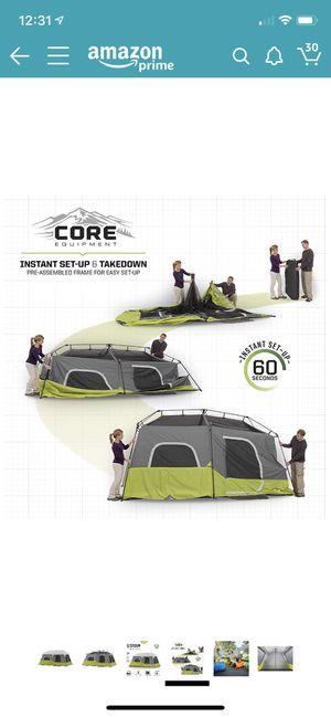 Core 9 Person Instant Tent for Sale in Santa Clara, CA
