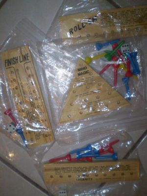 1987 Cardinal COLLECTION 4 Brain Teaser Wood Puzzle-Games for Sale in Phoenix, AZ