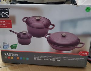 New cast iron 6 piece cookware set for Sale in Riverside, CA