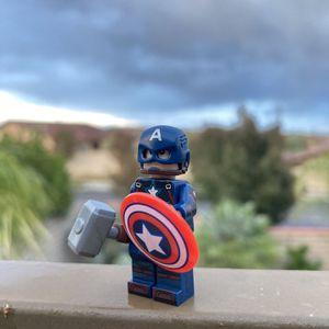 LEGO Marvel Superheroes Minifigures Captain America Avengers MCU Lot Toys for Sale in Las Vegas, NV