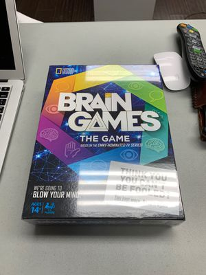 Brain games the game board game for Sale in Houston, TX