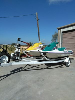 Two Sea-Doos with trailer for Sale in Converse, TX