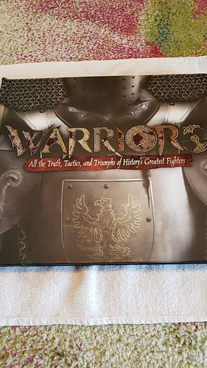 BOOK - WARRIORS All the Truth, Tactics and Triumphs of History's Greatest Fighters for Sale in Belmont, CA