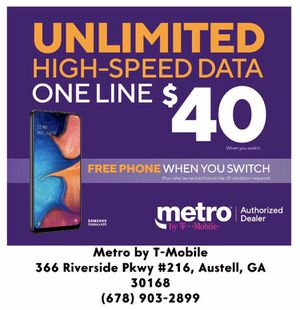 Metro by T-Mobile for Sale in Austell, GA
