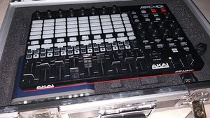 Akai APC40 MK2 with M-Audio Fast Track Pro and Road Ready Road Case for Sale in Las Vegas, NV