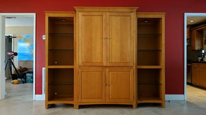 Maple Wall Unit for Sale in Hollywood, FL