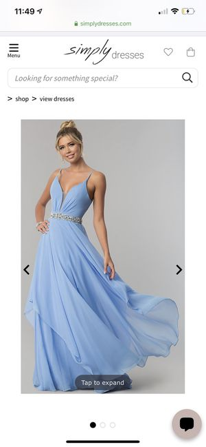 Bridesmaid's dress worn once for Sale in Los Angeles, CA