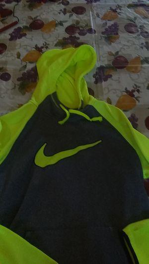 Neon yellow NIKE hoodie for Sale in Litchfield Park, AZ