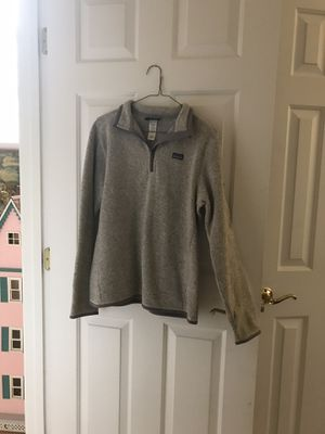 Patagonia Grey Pullover Zippered Jacket for Sale in Raleigh, NC