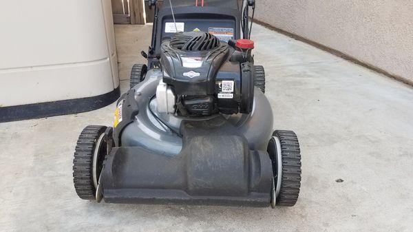 lawn mower crafsman selfpropelled