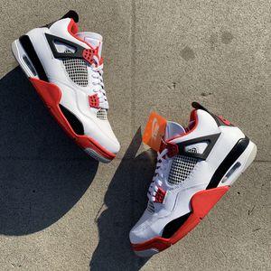 Jordan 4 Fire Red for Sale in Fresno, CA