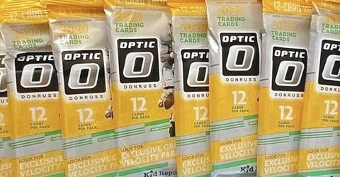 2020 Panini Donruss Optic Football Sealed Cello/Fat Pack LOT OF 12 for Sale in Danville,  CA