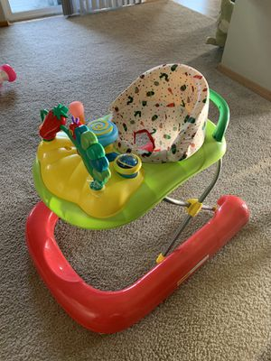 The Very Hungry Caterpillar 2-in-1 Walker for Sale in Wenatchee, WA