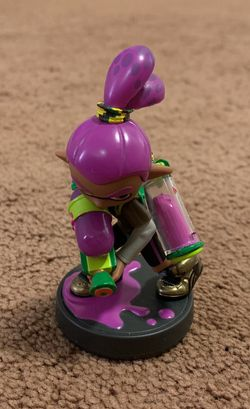 Purple Inkling Boy Amiibo (Nintendo Wii U / Nintendo Switch) for Sale in Los Angeles,  CA