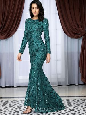 Long sleeve sequin dress for Sale in South Brunswick Township, NJ
