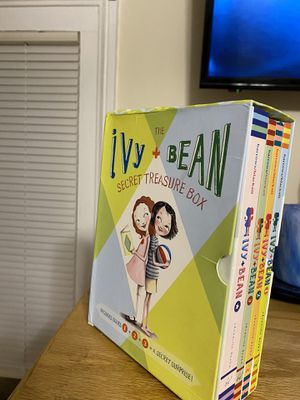 Ivy + bean book set with secret treasure box for Sale in Wallingford, CT