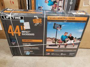 """Lifetime 44"""" portable basketball hoop for Sale in Redlands, CA"""
