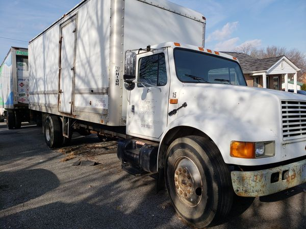 93 box truck with 85 000 miles pass Dot