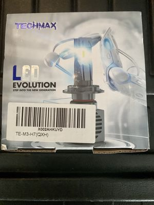 LED HEADLIGHTS TECHMAX H7 for Sale in Fairfax, VA