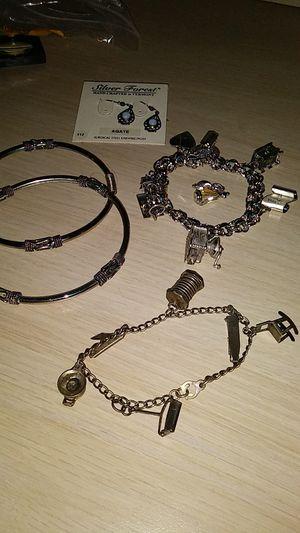 Vintage charm bracelets for Sale in Stockton, CA