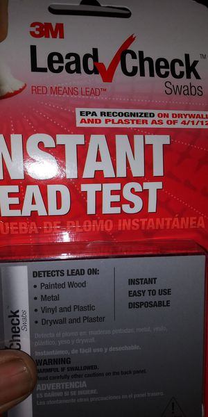 4 FOR. 50$ INSTANT LEAD TEST KIT. MUST PICK UP for Sale in Washington, DC