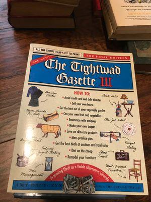 The tightwad gazette iii for Sale in Tacoma, WA